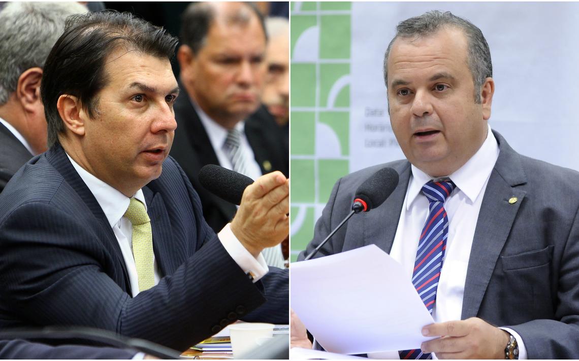 Deputados federais Arthur Maia (PPS-BA) e Rogério Marinho (PSDB-RN)