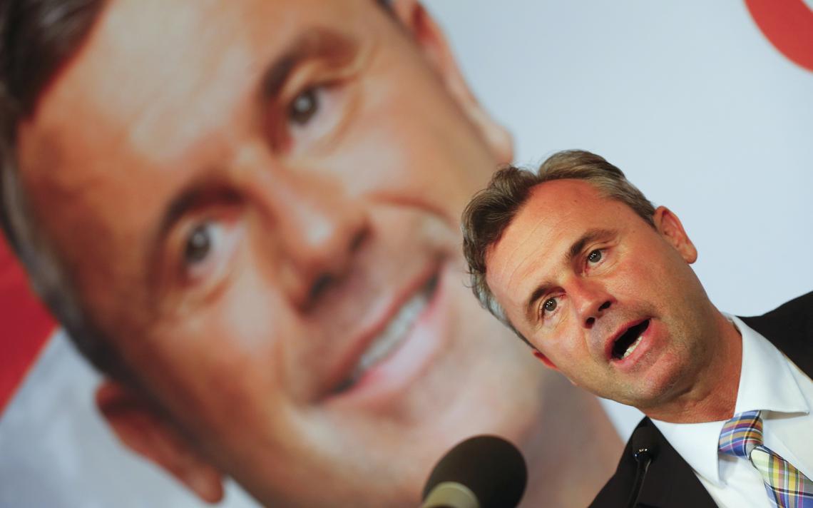 Candidato da extrema direita austríaca perde a votação presidencial no segundo turno para independente ligado ao partido verde
