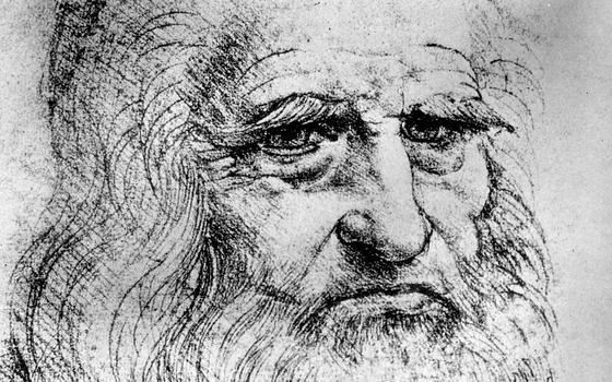 Por que esta pesquisa estudou os micróbios nas obras de da Vinci