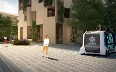 A cidade no Japão feita para a circulação de veículos sem motorista