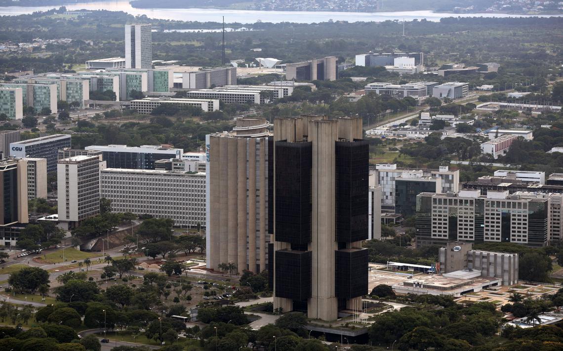 Prédio do Banco Central, em Brasília