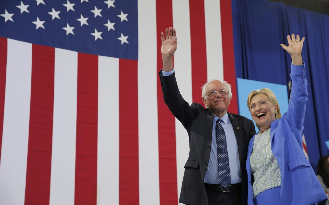 Senador americano concorria com Clinton pela nomeação democrata à presidência do país