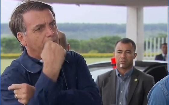 O teste negativo de Bolsonaro para o novo coronavírus