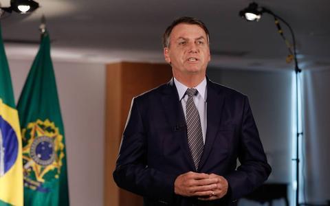 A reação das redes e de políticos ao pronunciamento de Bolsonaro