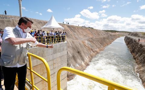 O que cabe a Bolsonaro na transposição do rio São Francisco