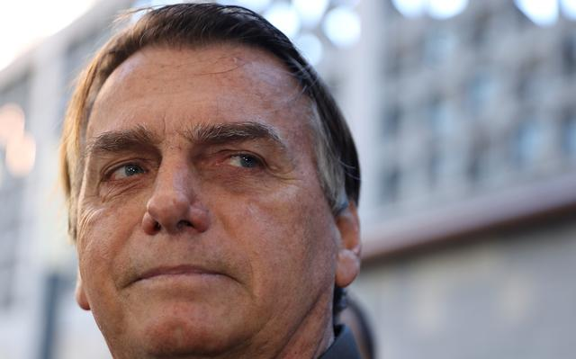 Close de Bolsonaro