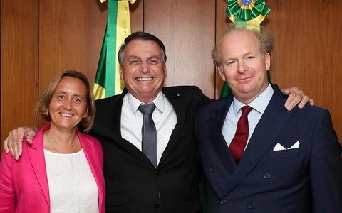 Bolsonaro se reuniu com líder xenófoba da ultradireita alemã