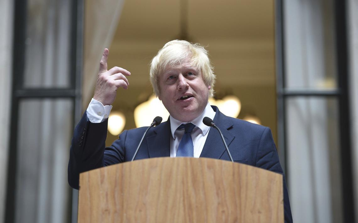 Discurso do novo secretário de relações exteriores britânico para funcionários