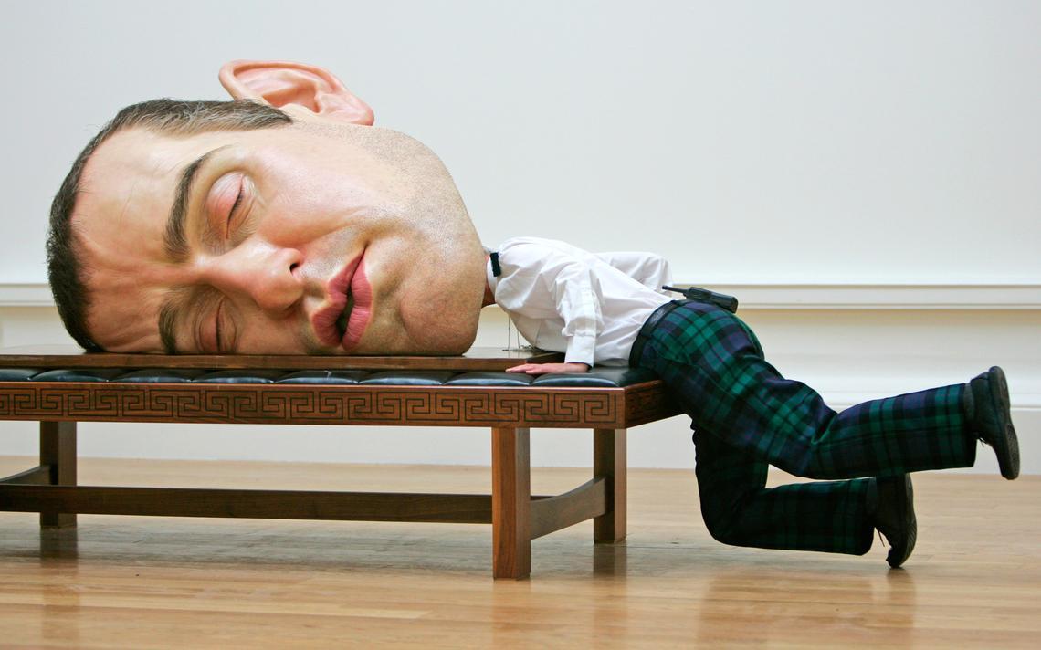 cabeça dormente