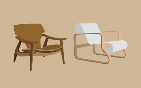 Como as cadeiras ajudam a entender a história do design
