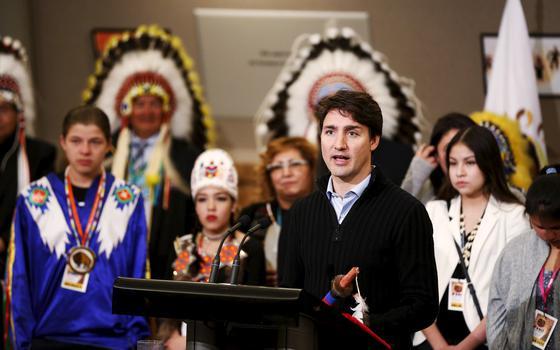 Como Trudeau lida com a pressão dos indígenas no Canadá