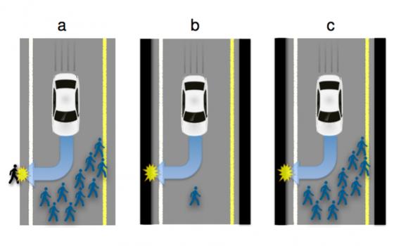 Qual será a 'moral' dos carros autônomos na hora de um acidente iminente