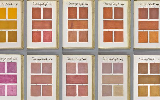 O primeiro guia de cores da história, 330 anos antes do Pantone