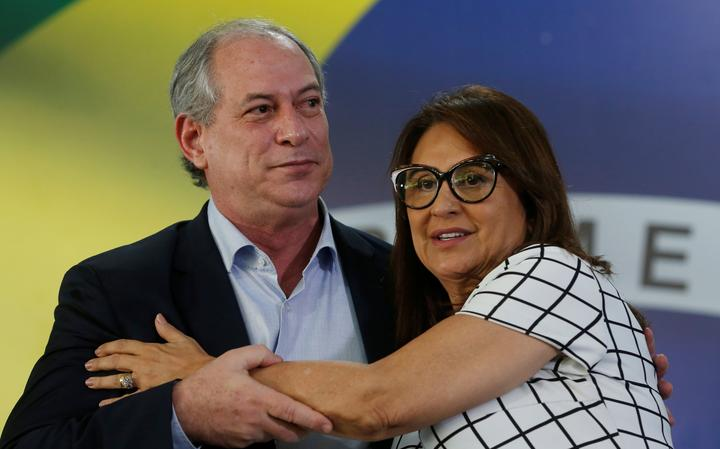 Ciro Gomes e Kátia Abreu