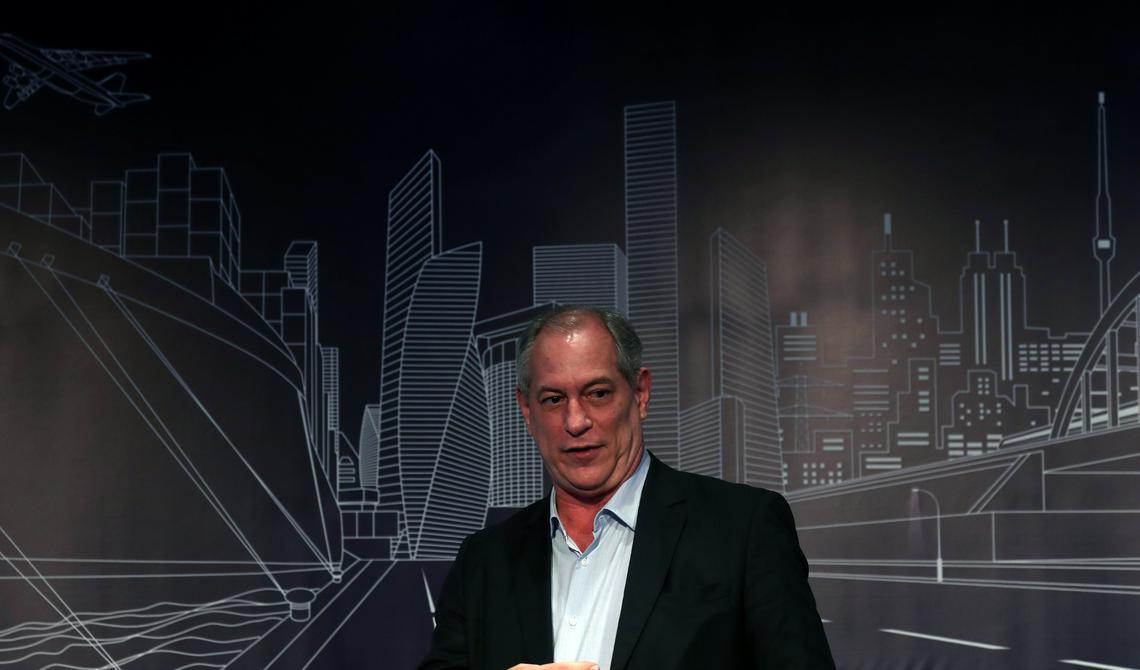 Ciro Gomes fala a empresários em evento em São Paulo
