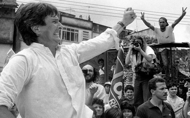 Fernando Collor de Mello, em 1989