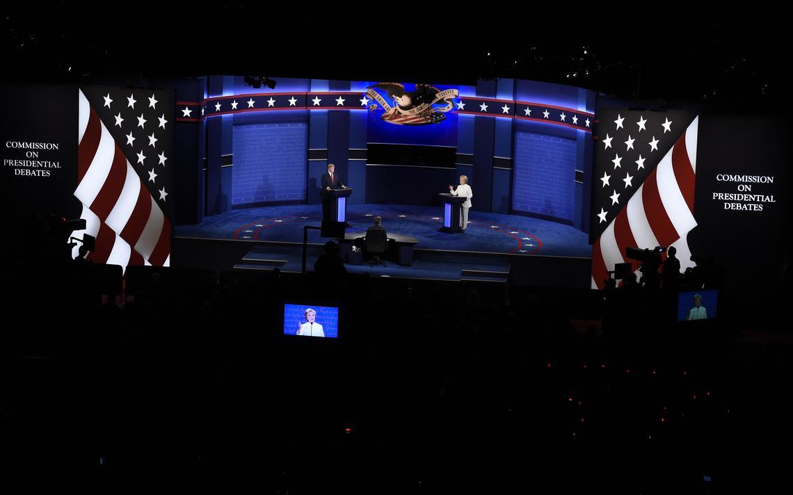 Terceiro e último debate presidencial americano
