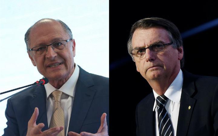 Alckmin e Bolsonaro disputam mesma fatia do eleitorado