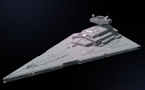 As naves clássicas de Star Wars. Veja o tamanho de 4 delas