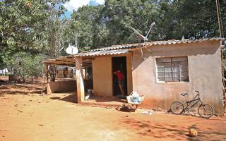 Comunidade quilombola Mesquita, situada a 50 km de Brasília