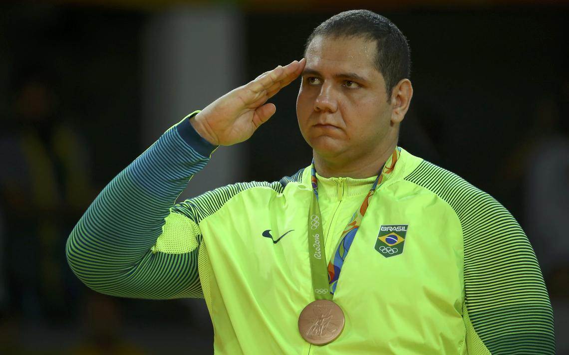 Judoca ficou com a terceira posição na categoria acima de 91 quilos