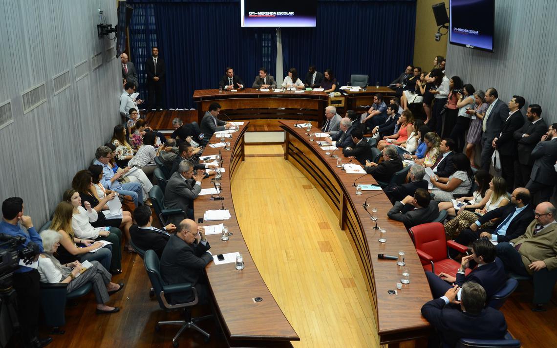 Deputado estadual em São Paulo pelo PSDB fala na CPI