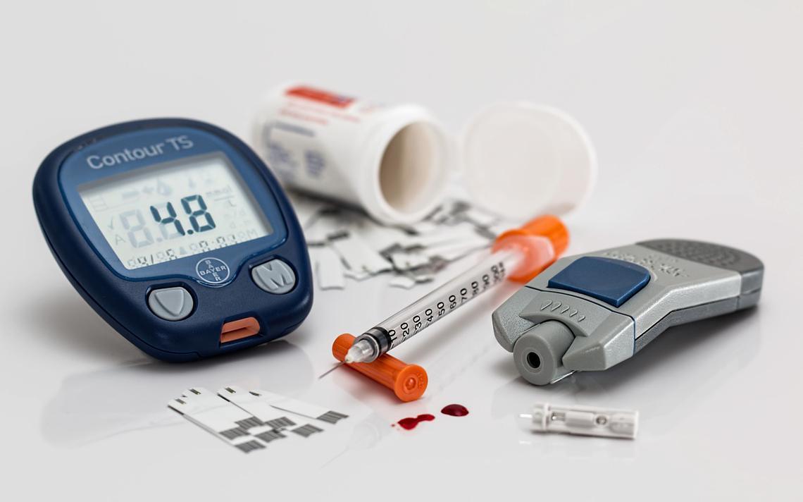 O custo do tratamento para o diabético pode chegar até R$ 800 por mês