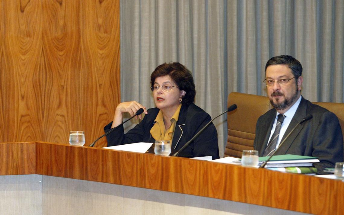 Chefe da Casa Civil e Ministro da Fazenda em Brasília