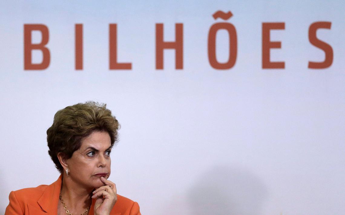 Dilma durante cerimônia de lançamento do Plano Safra