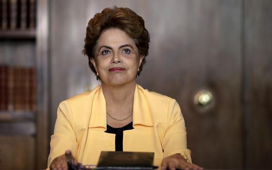 A popularidade de Dilma em meio à ameaça de impeachment
