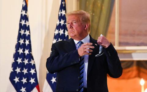 Como a desinformação marcou a internação de Trump por covid-19