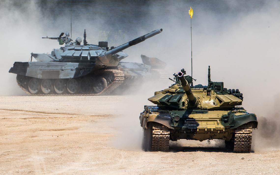 Veículos militares protagonizam competição mais popular dos jogos