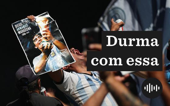 A comoção popular no velório de Maradona em Buenos Aires
