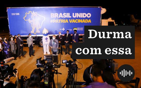 A propaganda oficial e a realidade da vacinação no Brasil