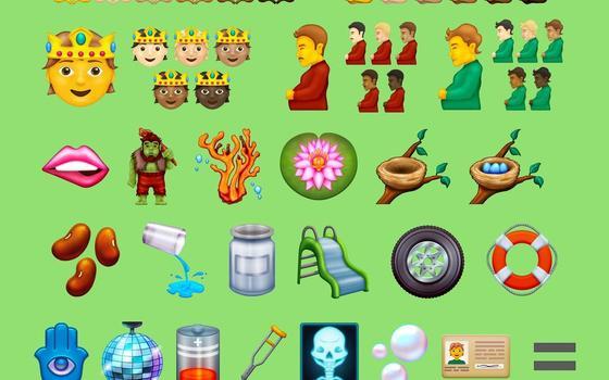 Votação mundial escolhe o melhor novo emoji de 2021