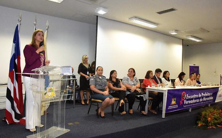 Primeiro Encontro de Prefeitas e Vereadoras do Maranhão, em 2017