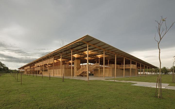 A escola rural do Tocantins que ganhou um prêmio de arquitetura