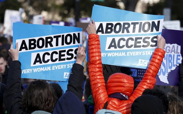Ativistas americanas contra a criminalização do aborto