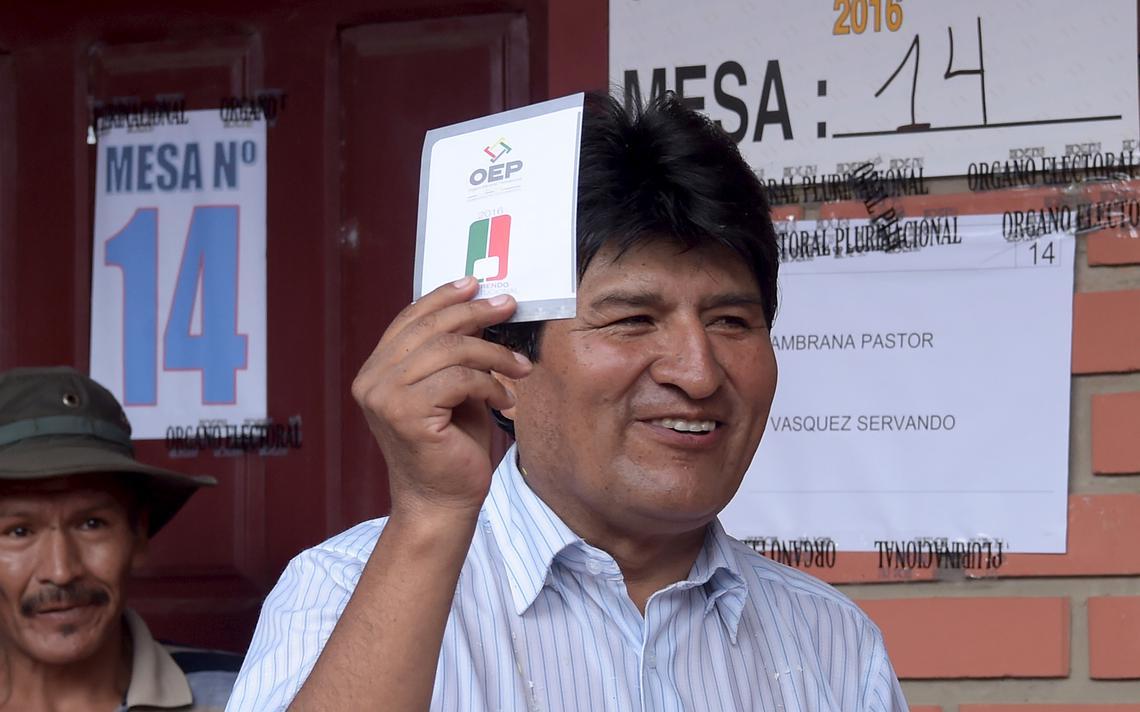 Presidente da Bolívia foi derrotado nas urnas