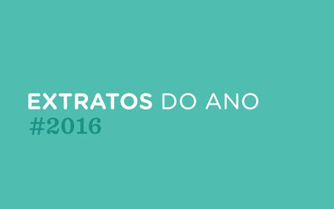Extratos do Ano #2016