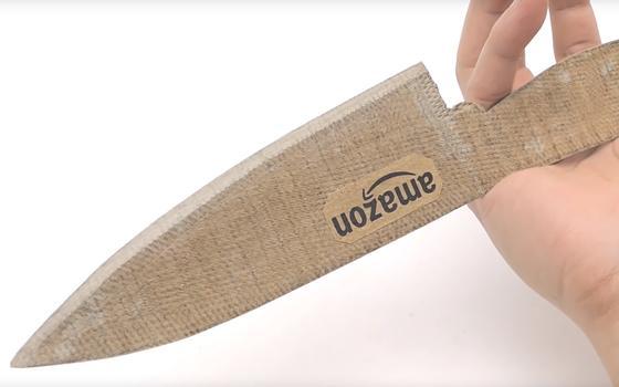 Como fazer facas de cozinha com materiais inusitados