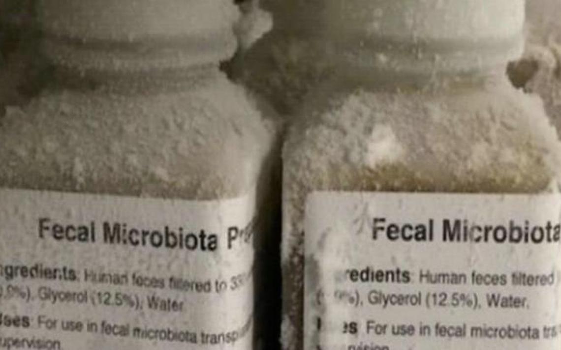 solução de microbiota fecal