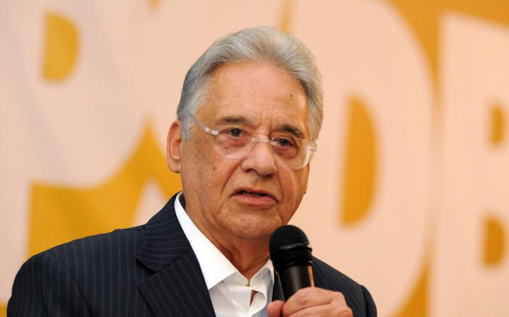 Ex-presidente FHC fala em evento