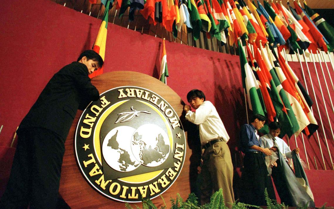 Reunião anual do FMI em 1997 em Hong Kong