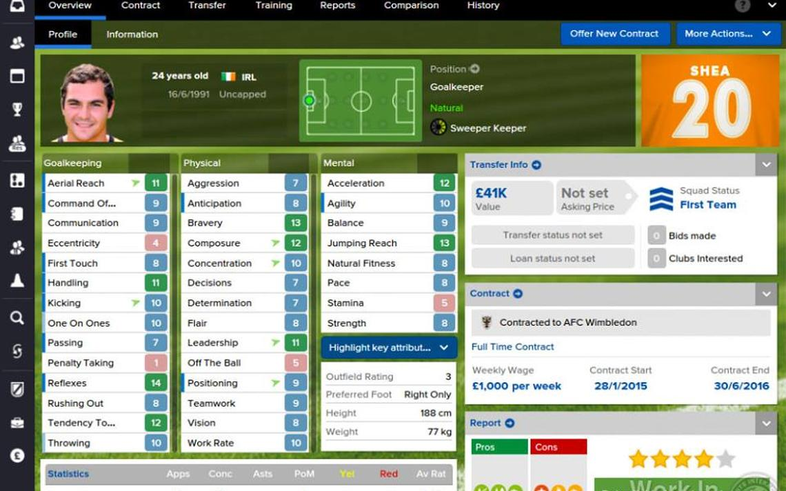 Dados do jogo já são usados por clubes para contratar novos jogadores e funcionários