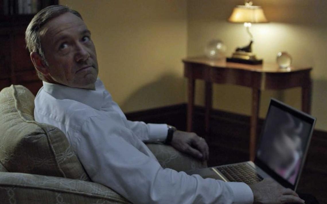 Frank Underwood em 'House of Cards'