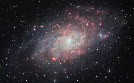 O site que mapeia galáxias e outras interações espaciais