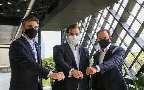 Doria nomeia Rodrigo Maia para secretaria no governo de SP