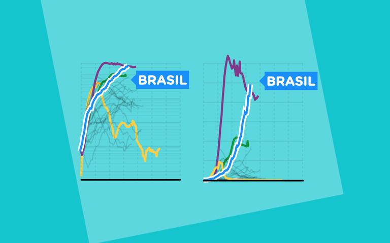 Como são feitas as escolhas para fazer os gráficos da pandemia ...