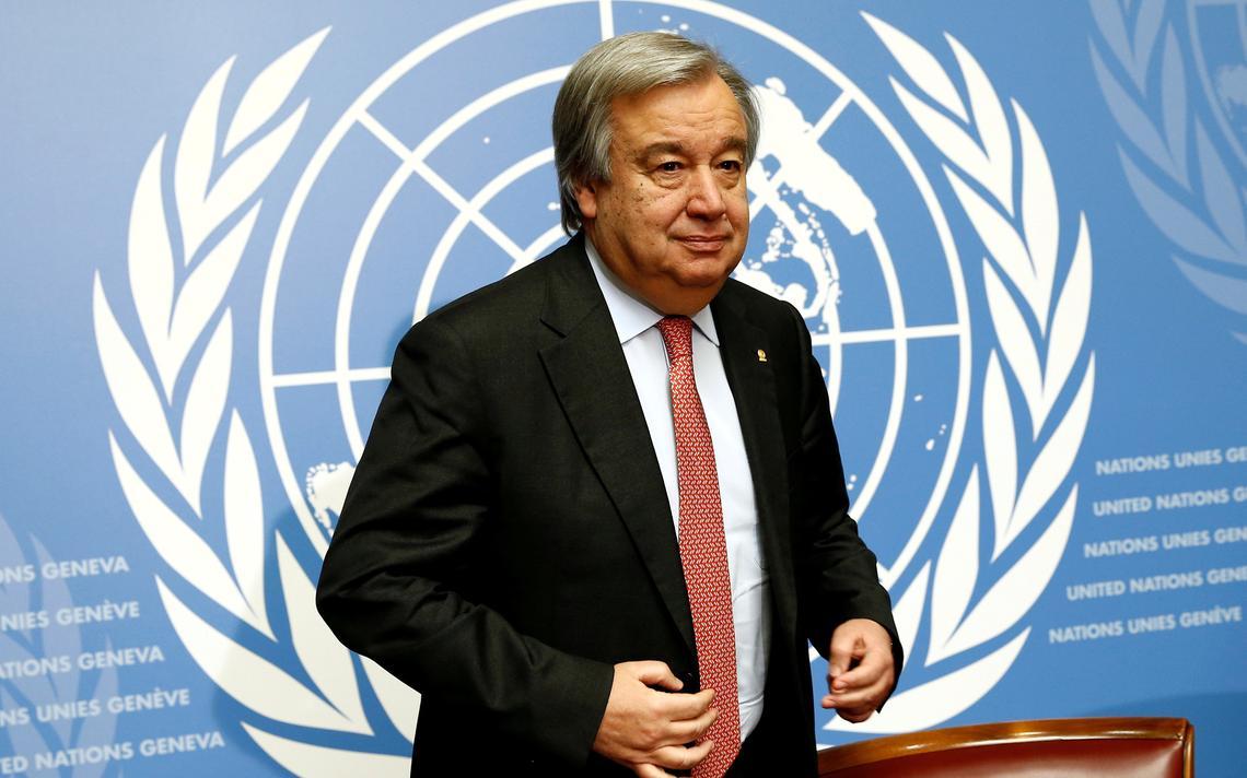 Guterres foi chefe da ACNUR